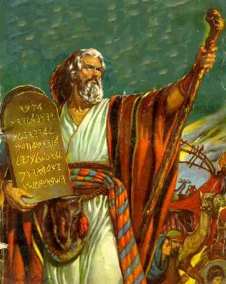 Moisés - O super-heroi doado pelo judaismo.