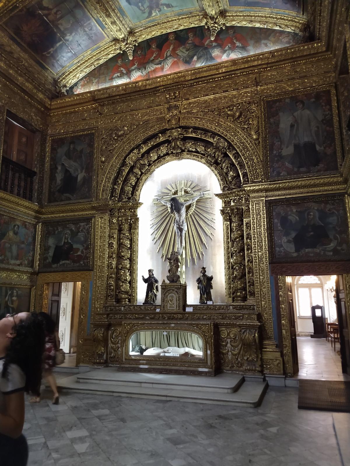 A Capela Dourada doRecife