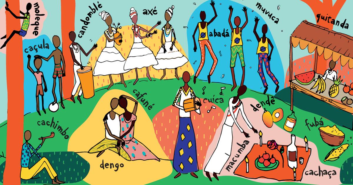 Palavras de origemafricana