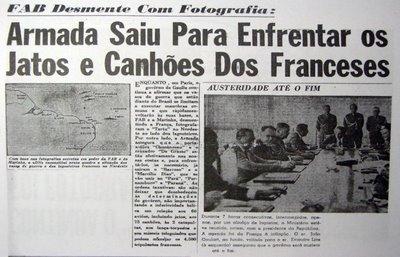 Tensão entre Brasil e França nahistória