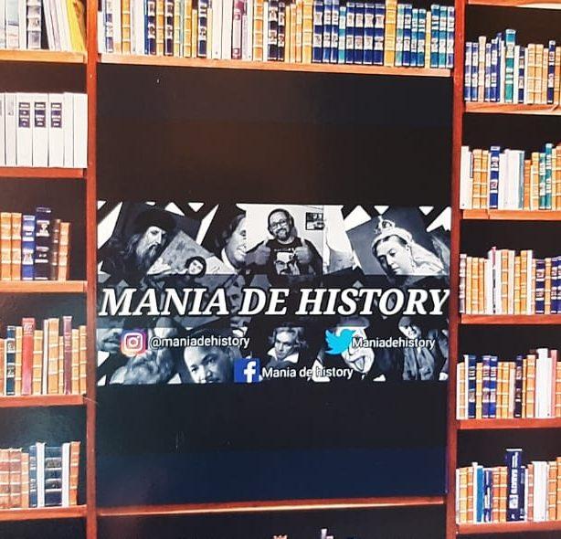 MANIA DE HISTORY NO YOUTUBE: INSCREVA-SE EPARTICIPE!